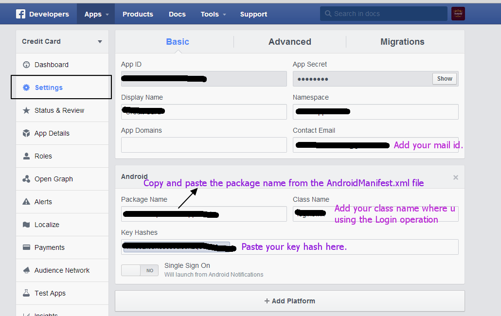 Generate Key Hash For Facebook Integration Android ...